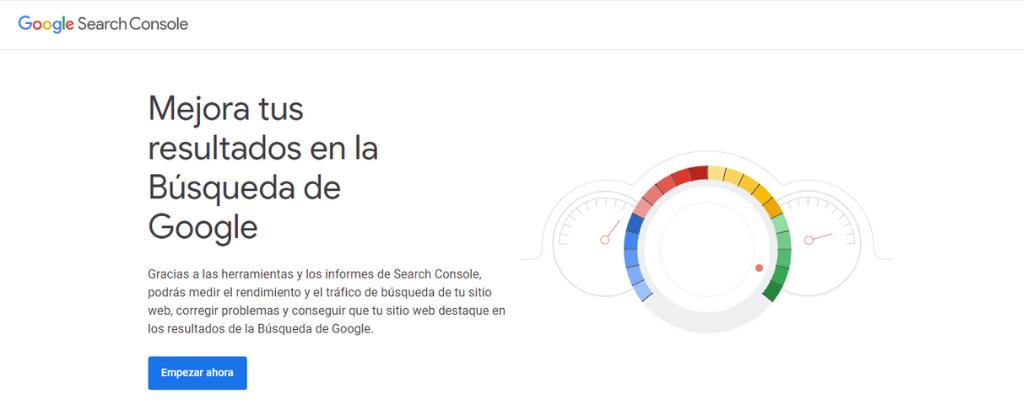 Google search Console. Acanof